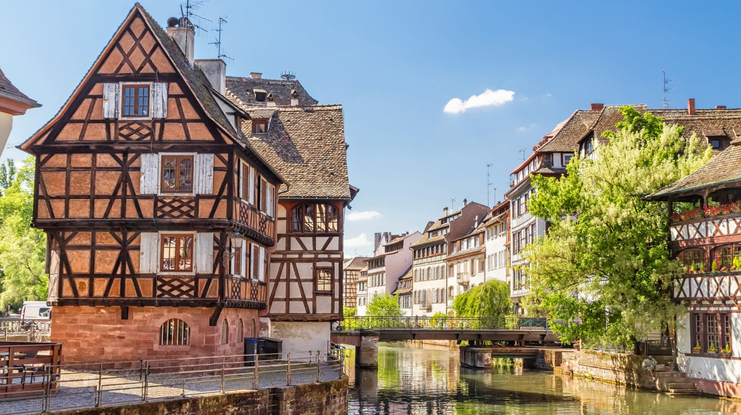 House tanners, Petite France district. Strasbourg, France.