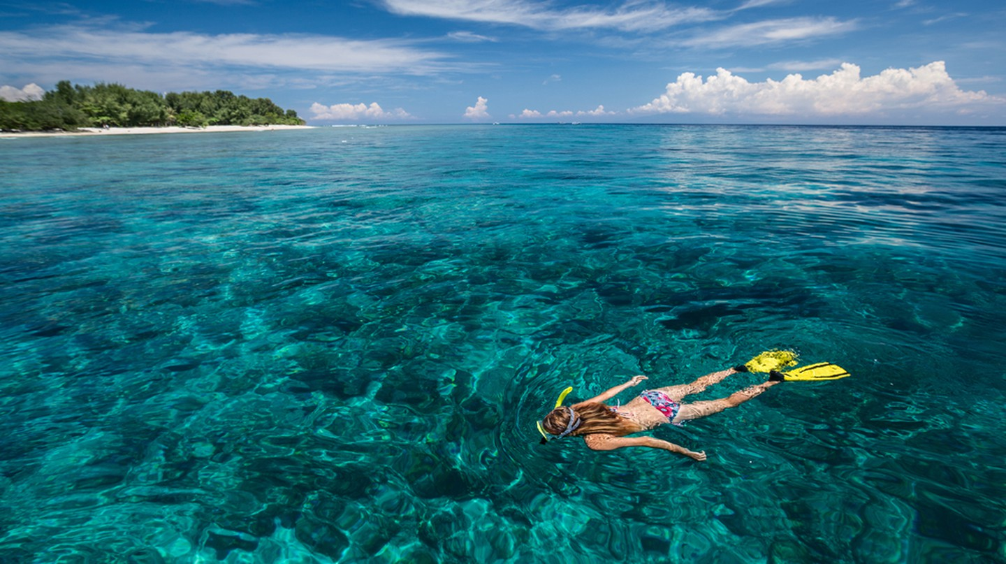 The turquoise waters framing the Gili Islands are packed with incredible sea life, from beautiful corals to massive sea turtles