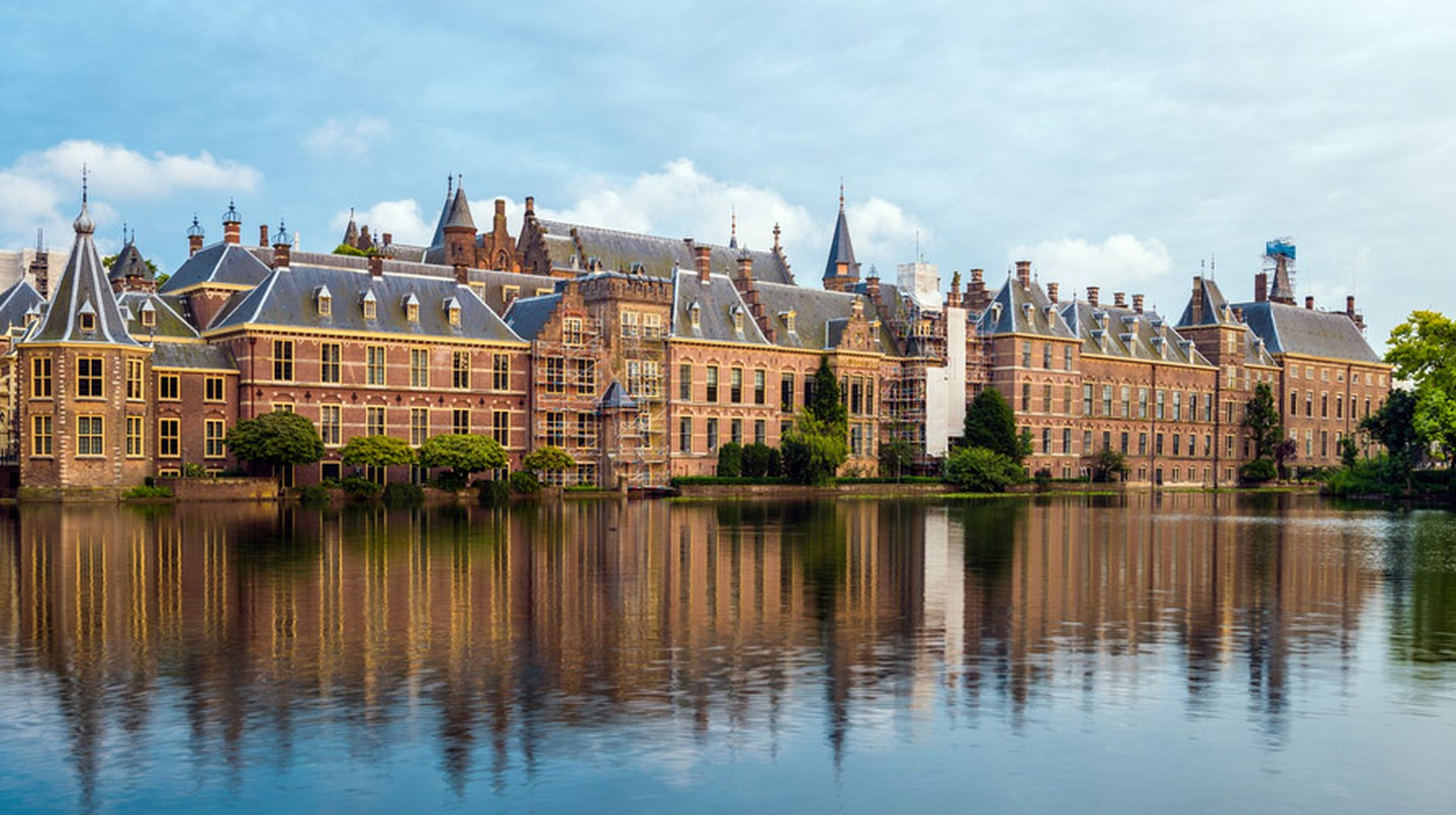 Binnenhof Palace in The Hague, The Netherlands.