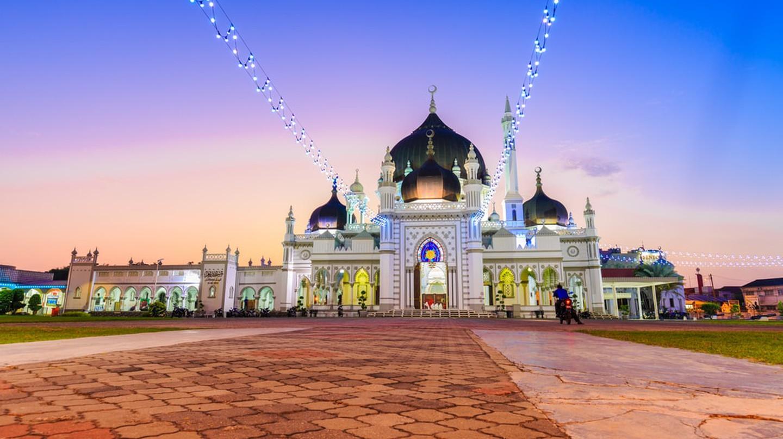 Alor Setar's Masjid Zahir