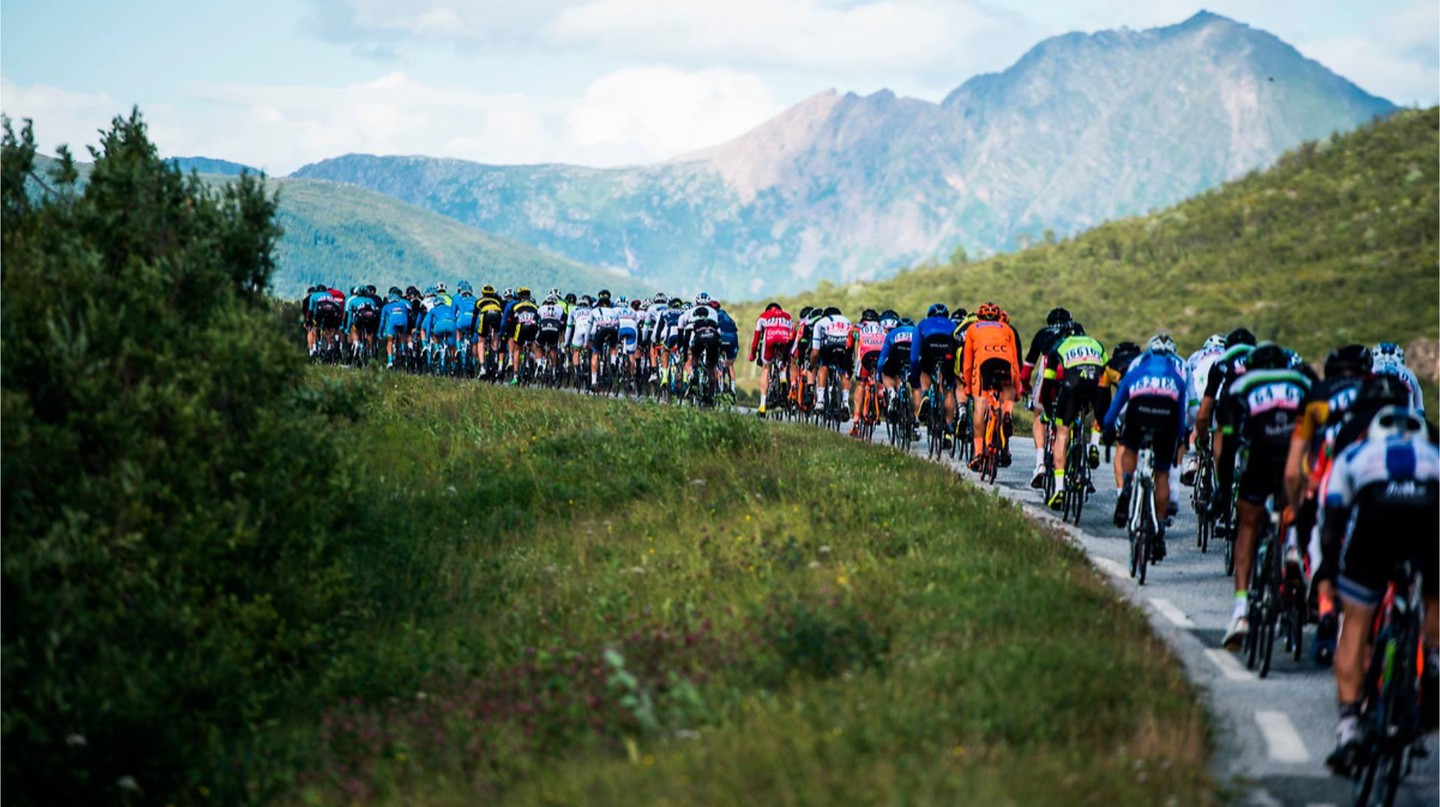 Some of the world's best cyclists gather in Norway for the Arctic Race