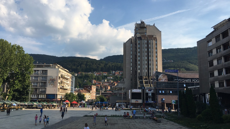 The main square in Užice