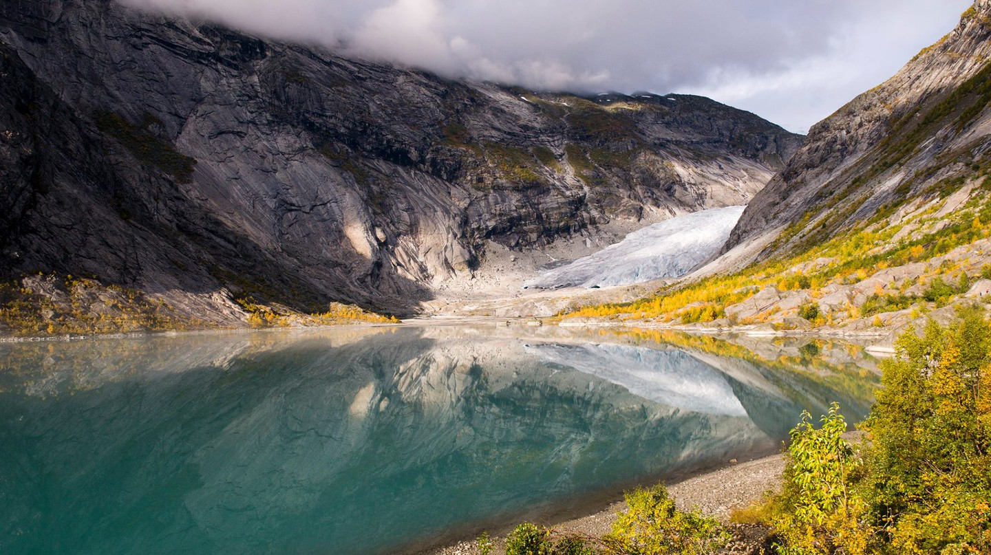 Nigardsbreen, part of the Jostedalsbreen National Park
