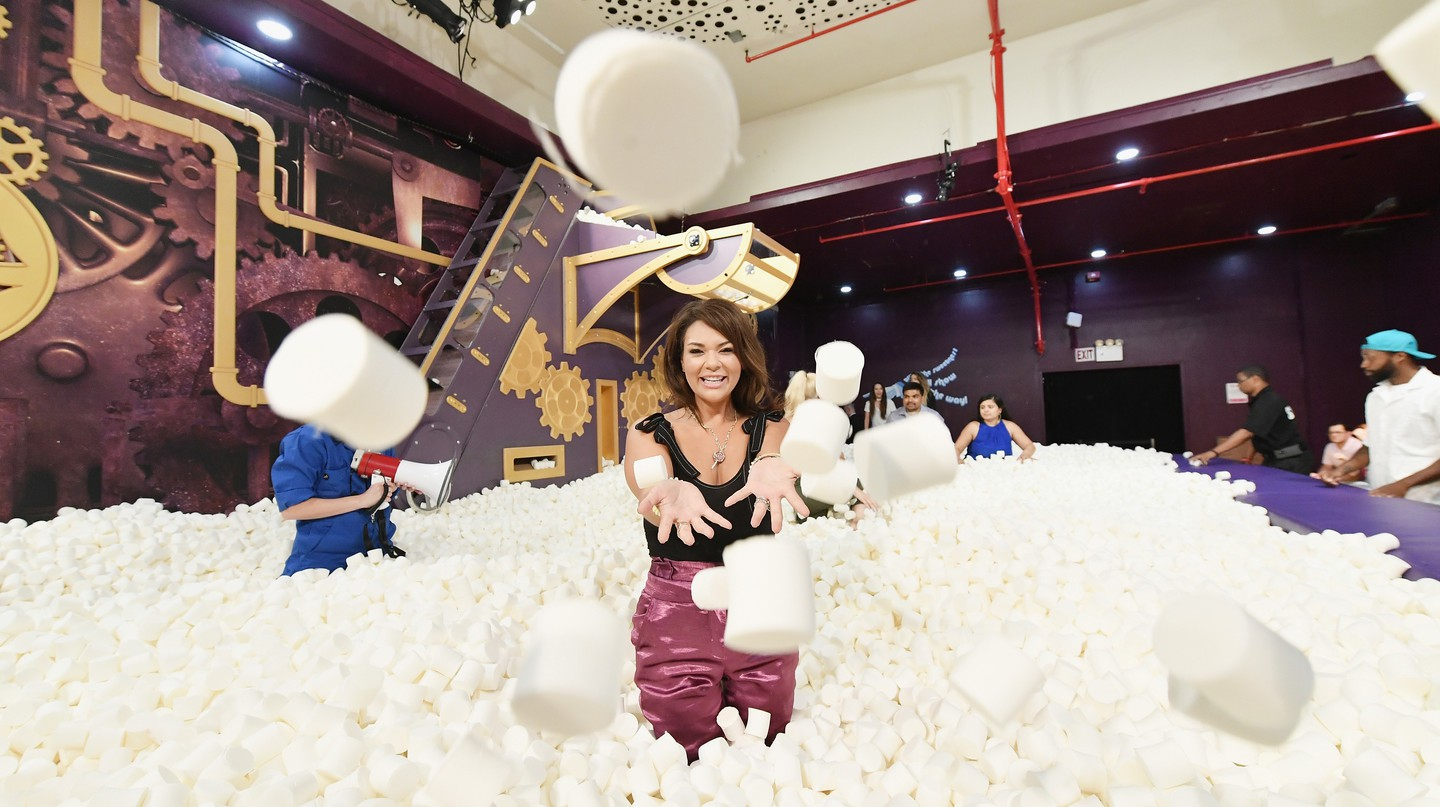 Candytopia Co-CEO Jackie Sorkin takes a dive into the marshmallow pit