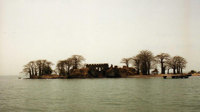 View of Kunta Kinte Island