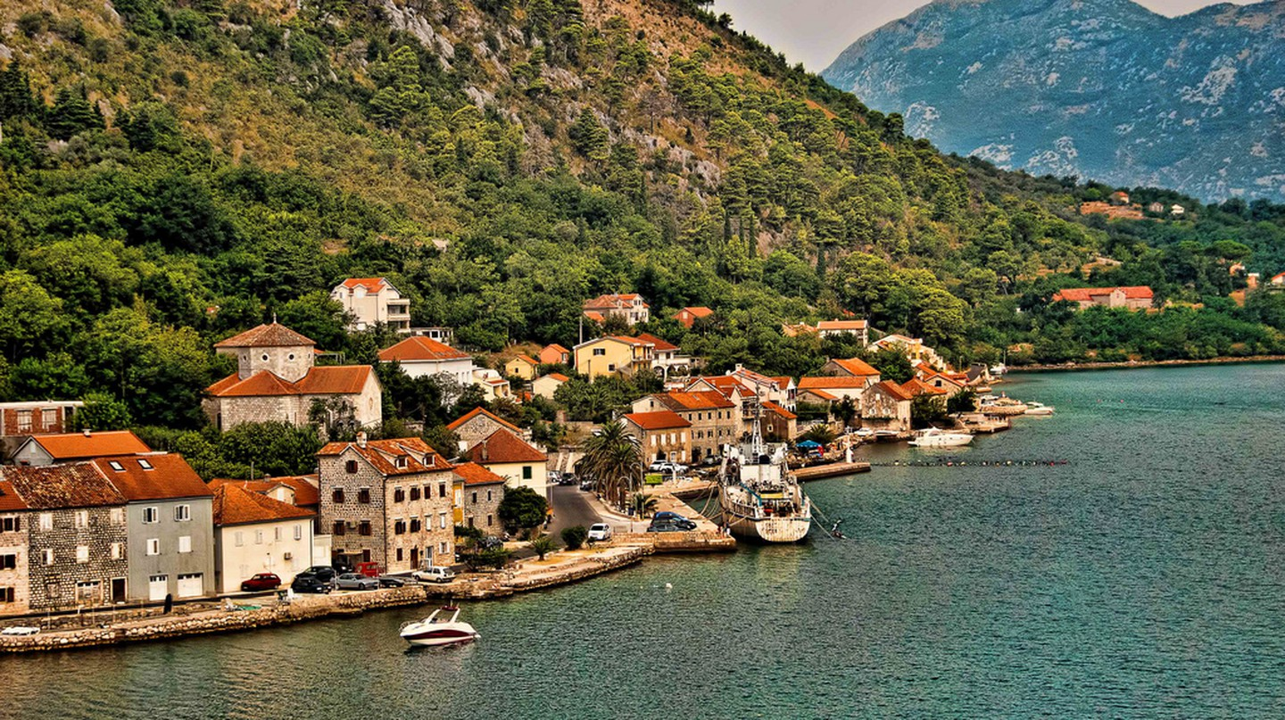 Beautiful Dobrota, Montenegro