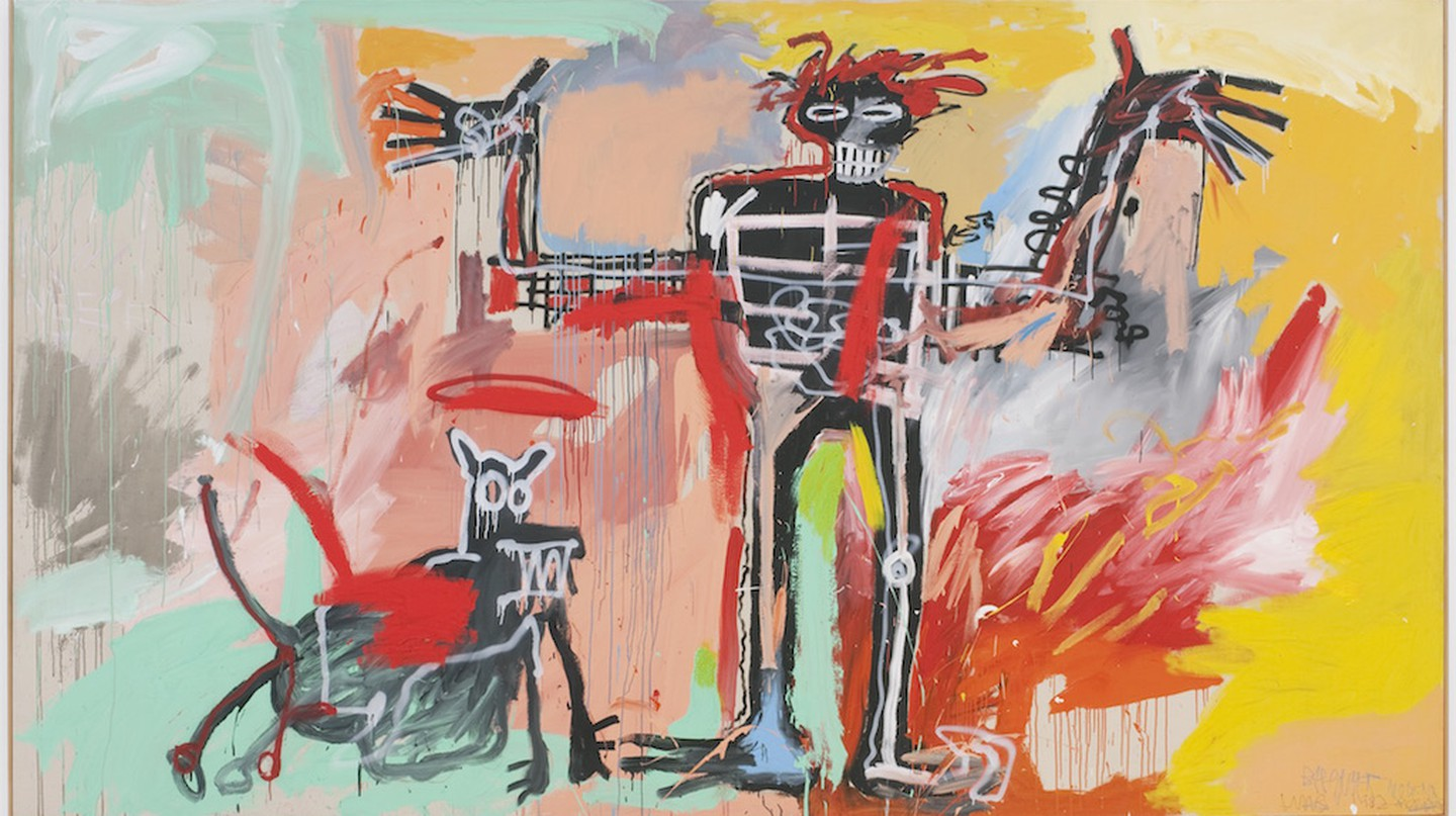 Jean-Michel Basquiat – 'Boy and Dog in a Johnnypump' (1982)