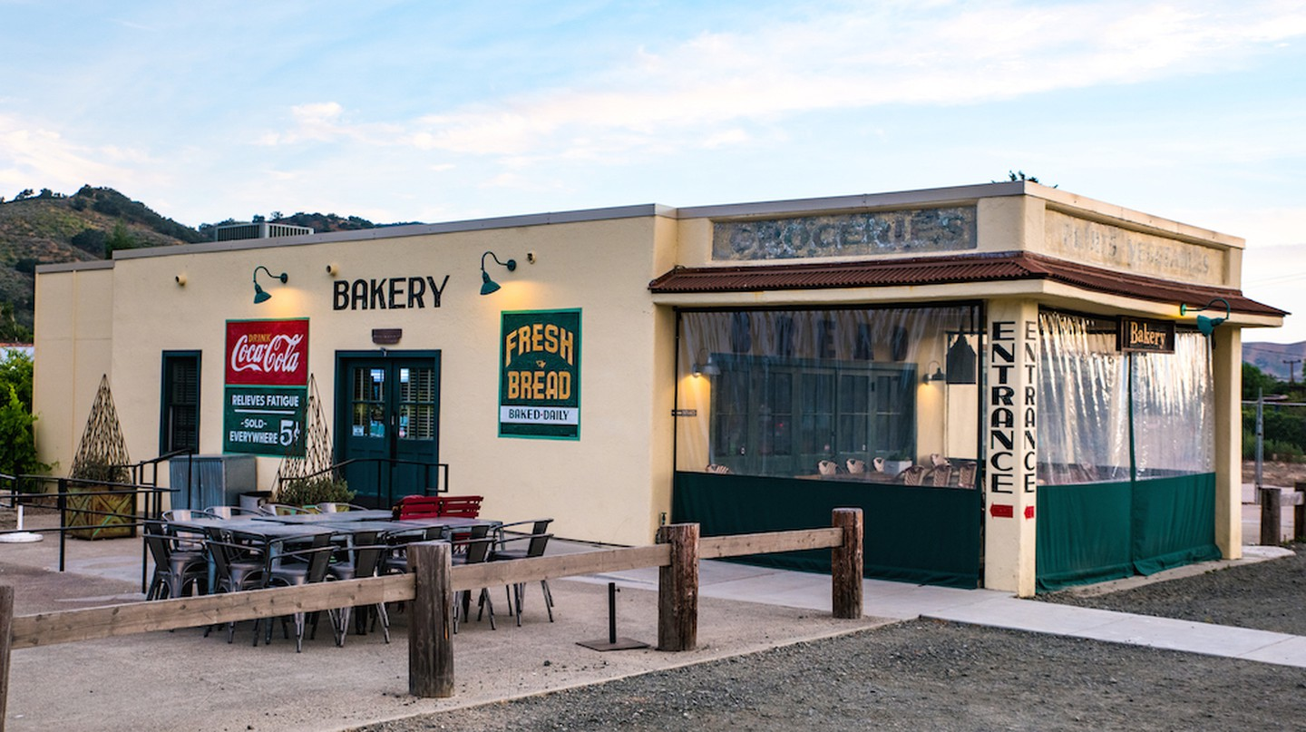Bob's Well Bread is an institution in Los Alamos for pastries, tartines and fresh loaves