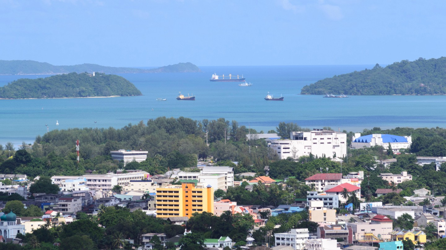View of Phuket, Thailand.