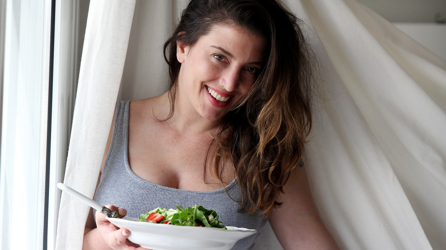 Greek food blogger Marilou Pantaki, also known as Madame Ginger