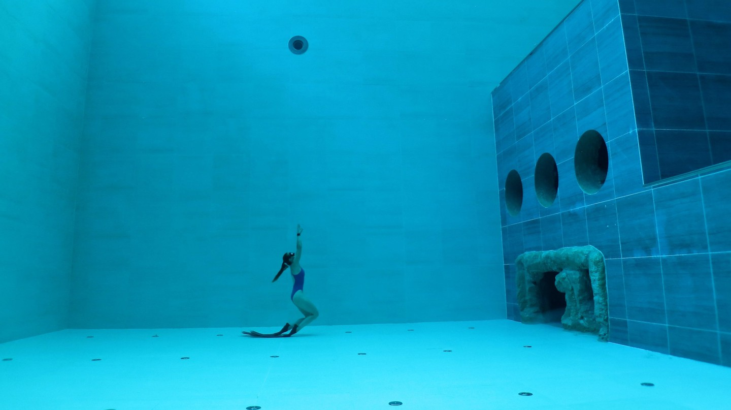Deep Joy Y-40 in Venice, the world's deepest pool