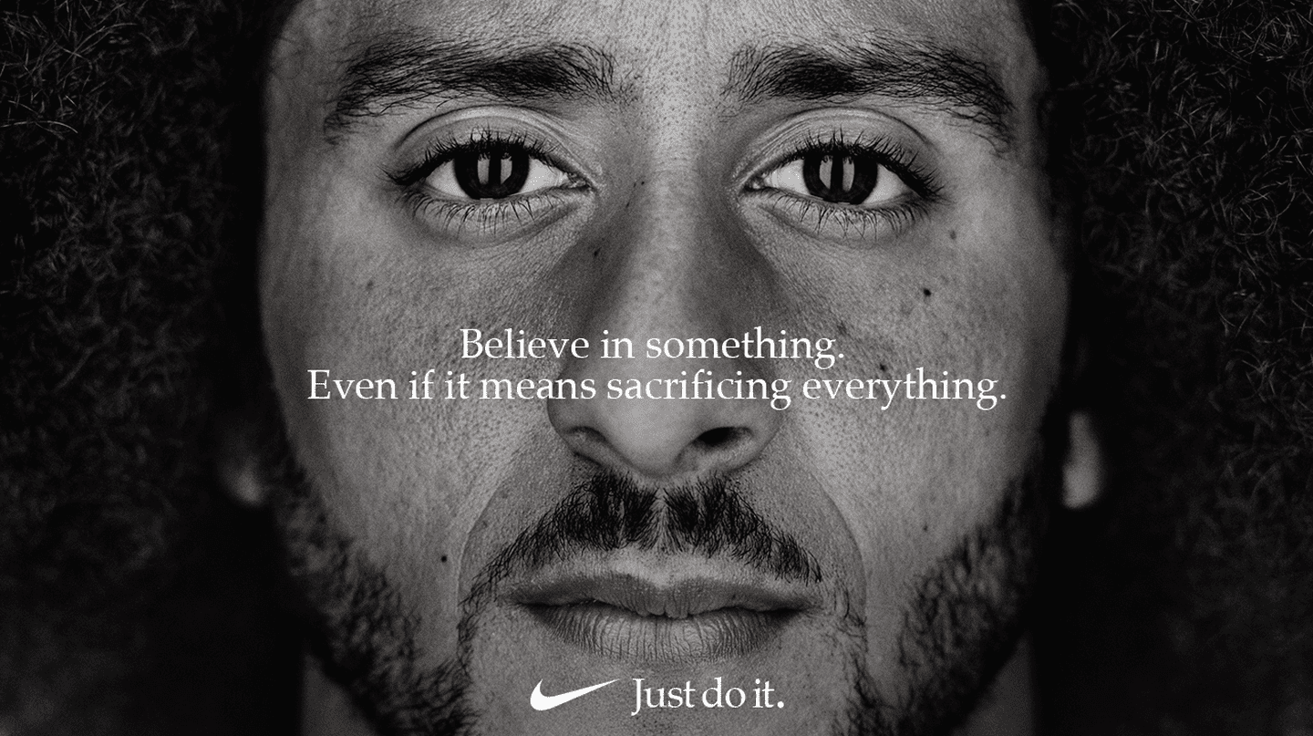 Colin Kaepernick is the face of Nike's 'Just Do It' campaign