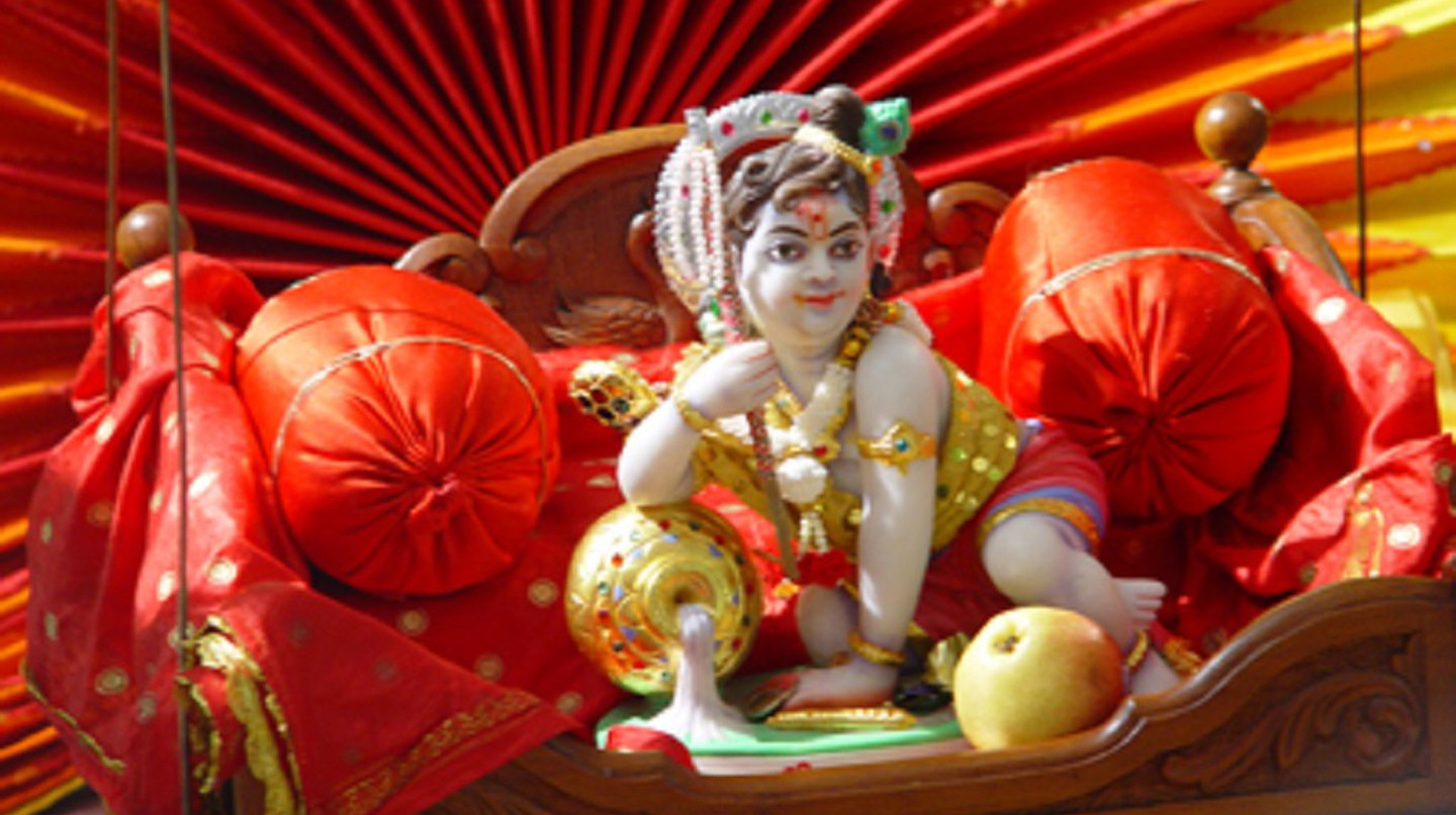 Janmashtami is a two-day festival of Lord Krishna's birthday