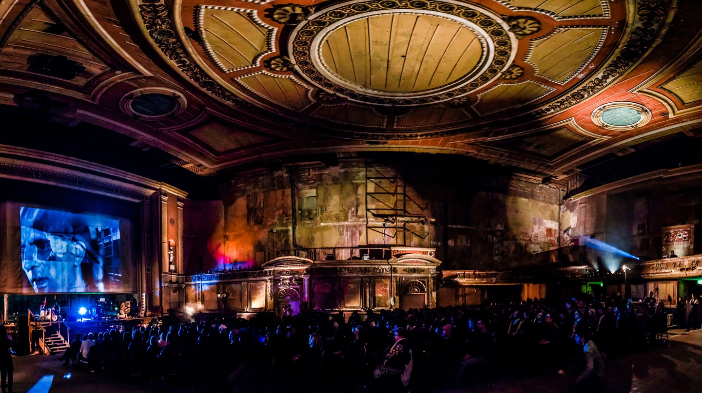 A disused London Theatre brought back to life through the Lost Lectures