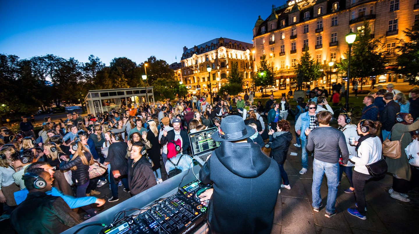 One of the events of Oslo Culture Night