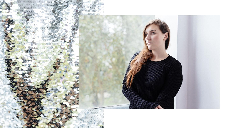 Paula Knorr in her studio, September 2018, London