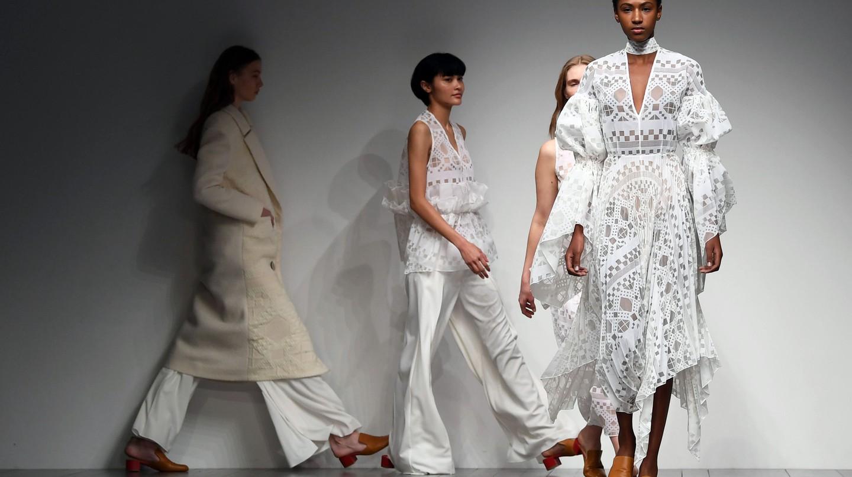 Teatum Jones at London Fashion Week autumn/winter 2018