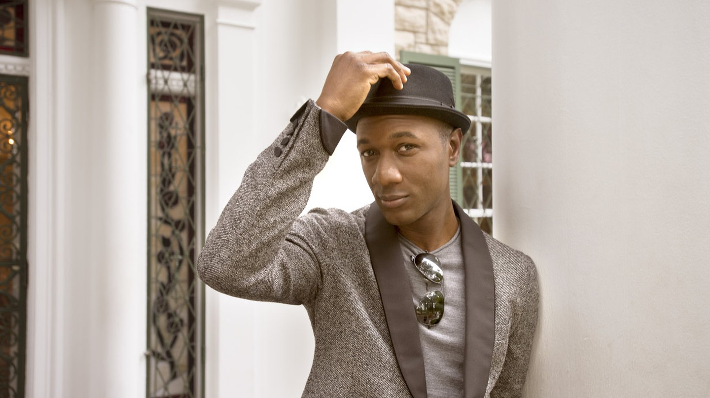 Aloe Blacc at Graceland, the home of Rock n' Roll legend, Elvis Presley