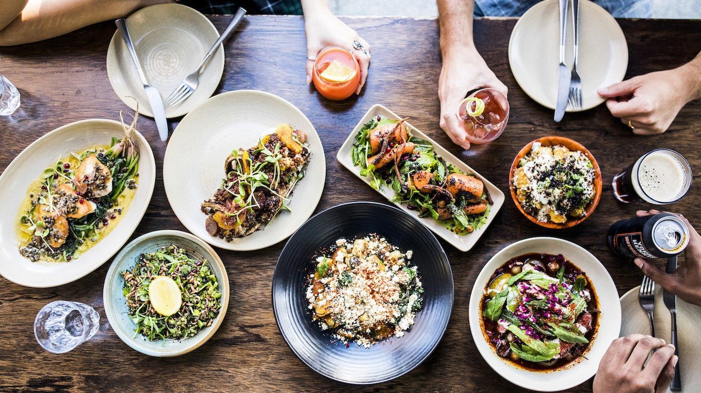 Share plates at Bivouac