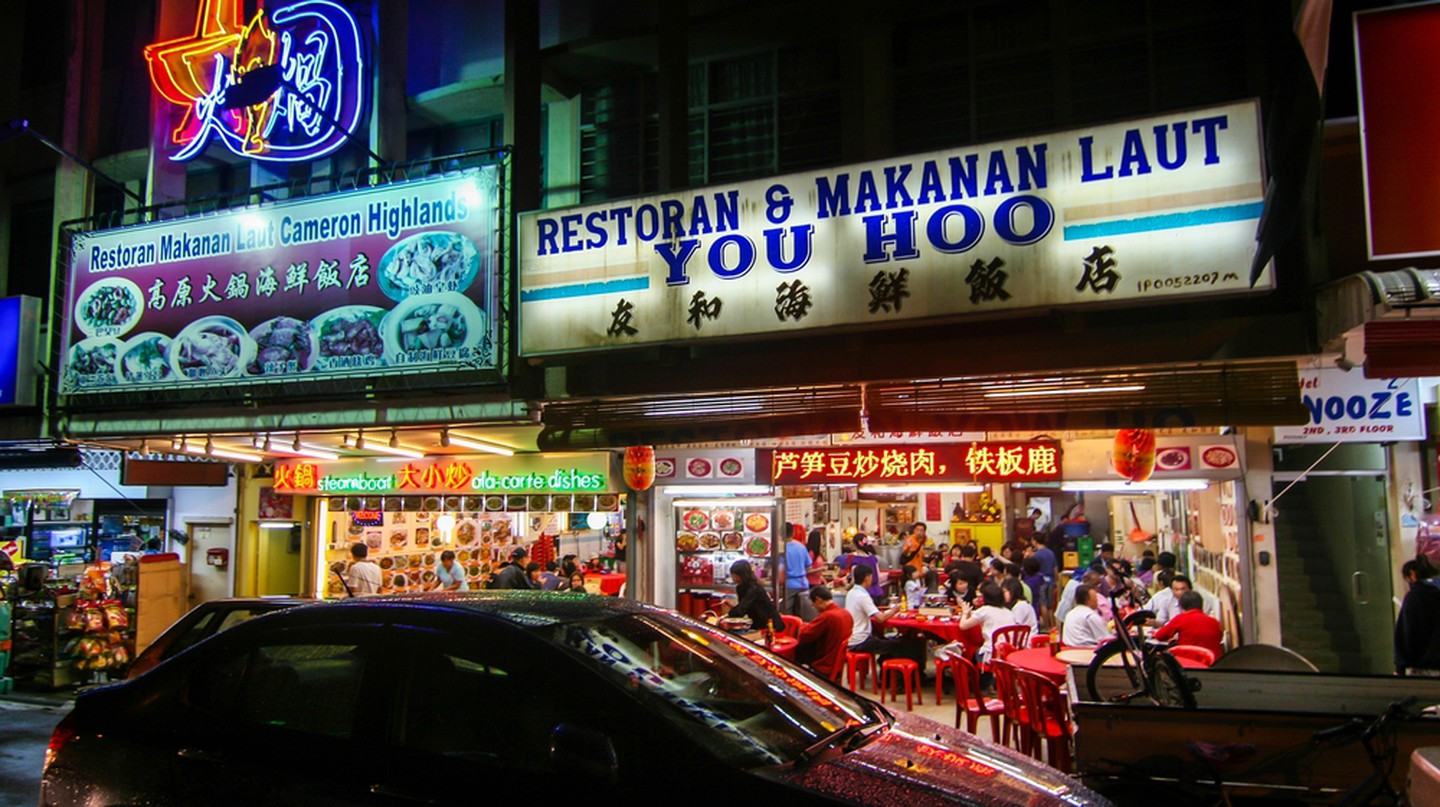 Try the steamboat inside one of Cameron Highland's oldest restaurants
