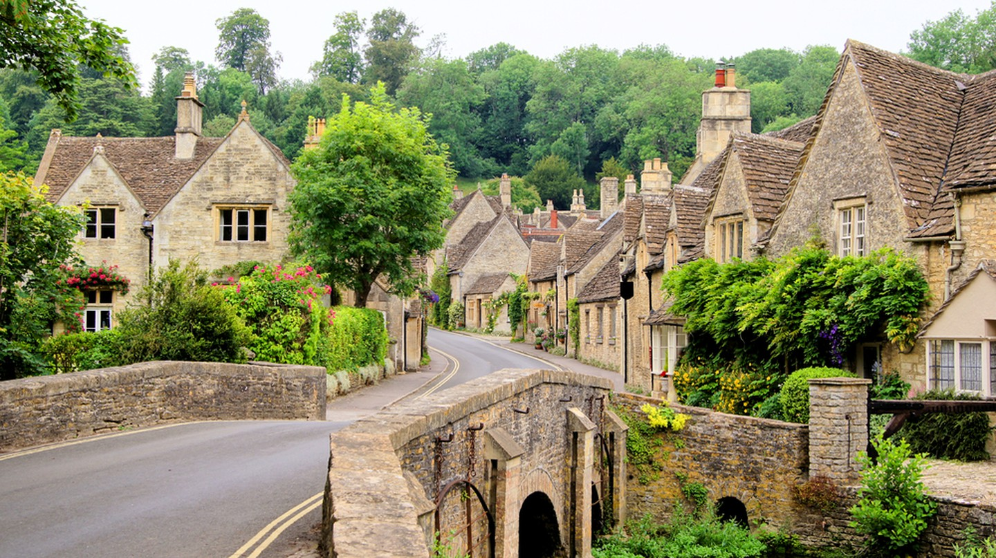 Cotswold village of Castle Combe