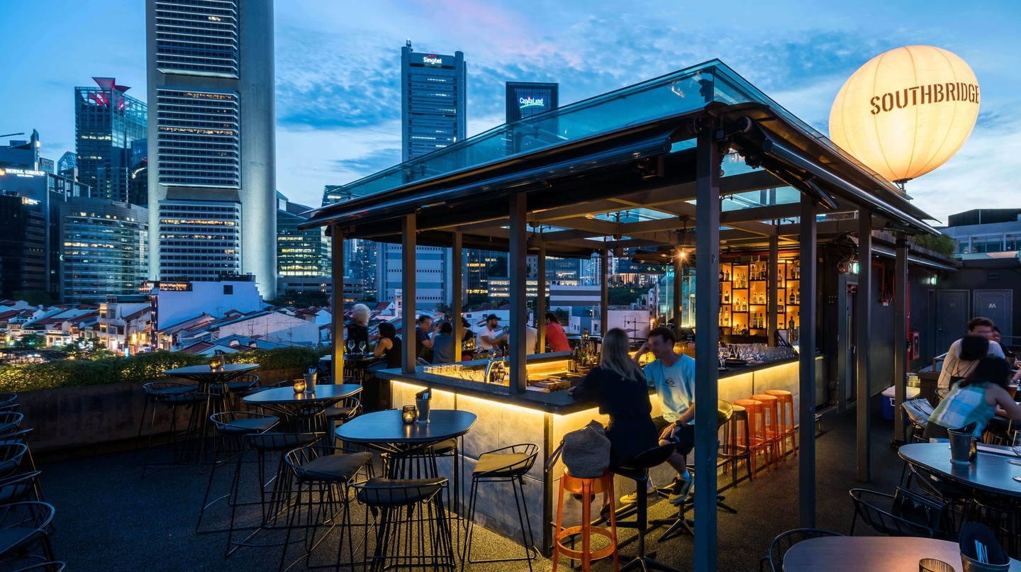Southbridge offers a great view of Singapore's skyline