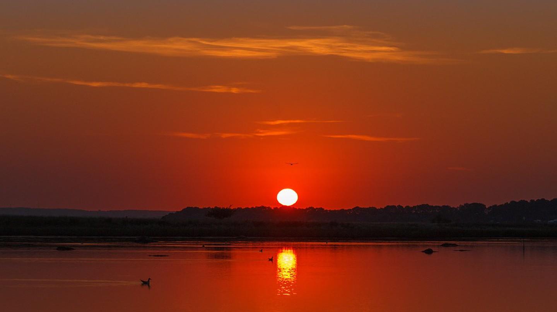 Sunrise on Poel Island