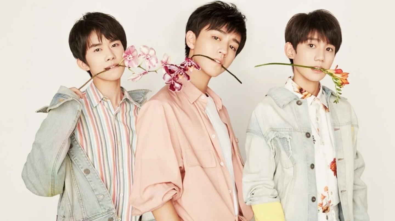 Chinese boy band TFBOYS