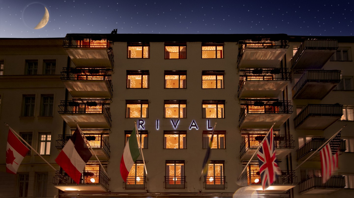 The first boutique hotel in Stockholm, Hotel Rival.