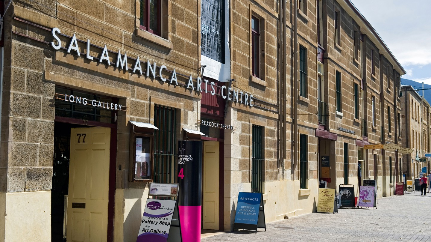Salamanca Arts Centre is one of many fantastic art galleries in the Tasmanian capital