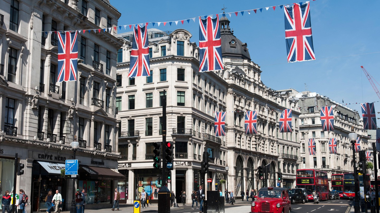Regent Street, London, England.