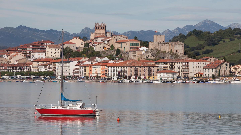 San Vicente de la Barquera, Santander, Spain.