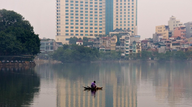 West lake, Hanoi, Vietnam.