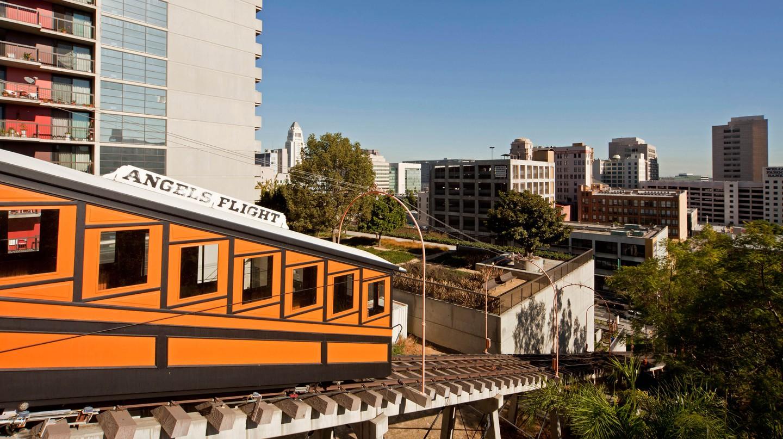 Angels Flight Railway is featured in 'La La Land'