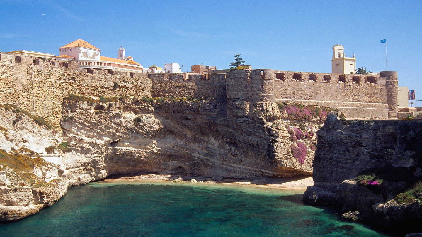 Melilla's location overlooking the sea is spectacular