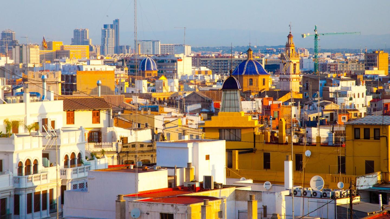 Skyline, Valencia, Spain.