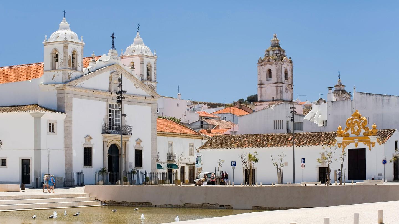 Igreja de Santa Maria, lagos, Portugal.