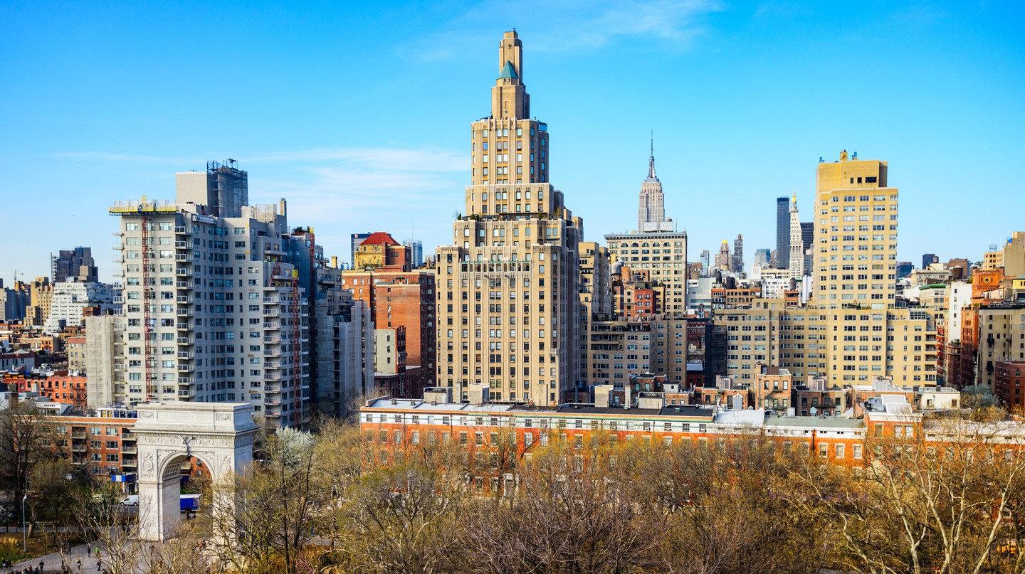 New York City's Washington Square Park is a great place to spend the day
