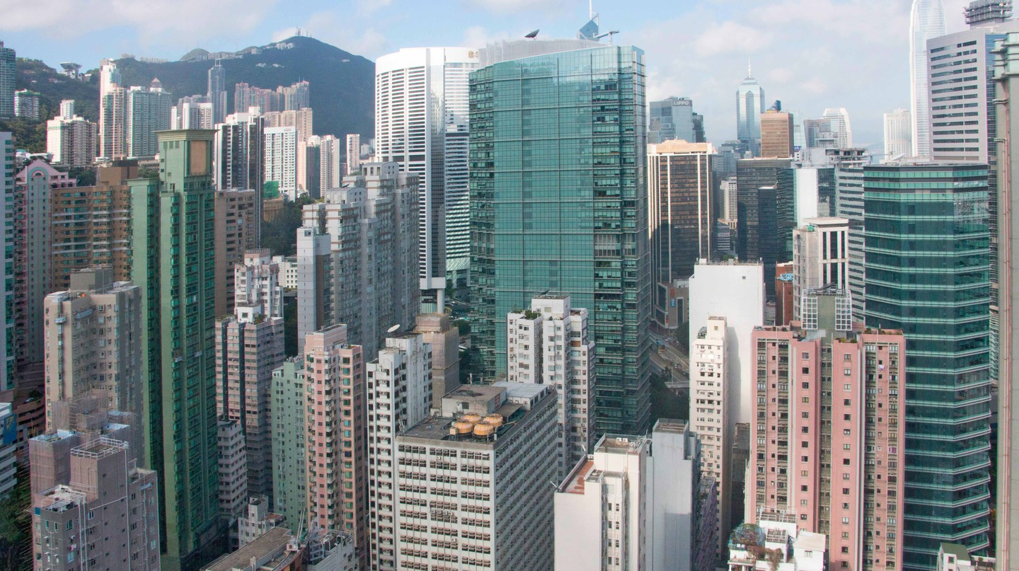 Wan Chai is one of Hong Kong's glitziest corners