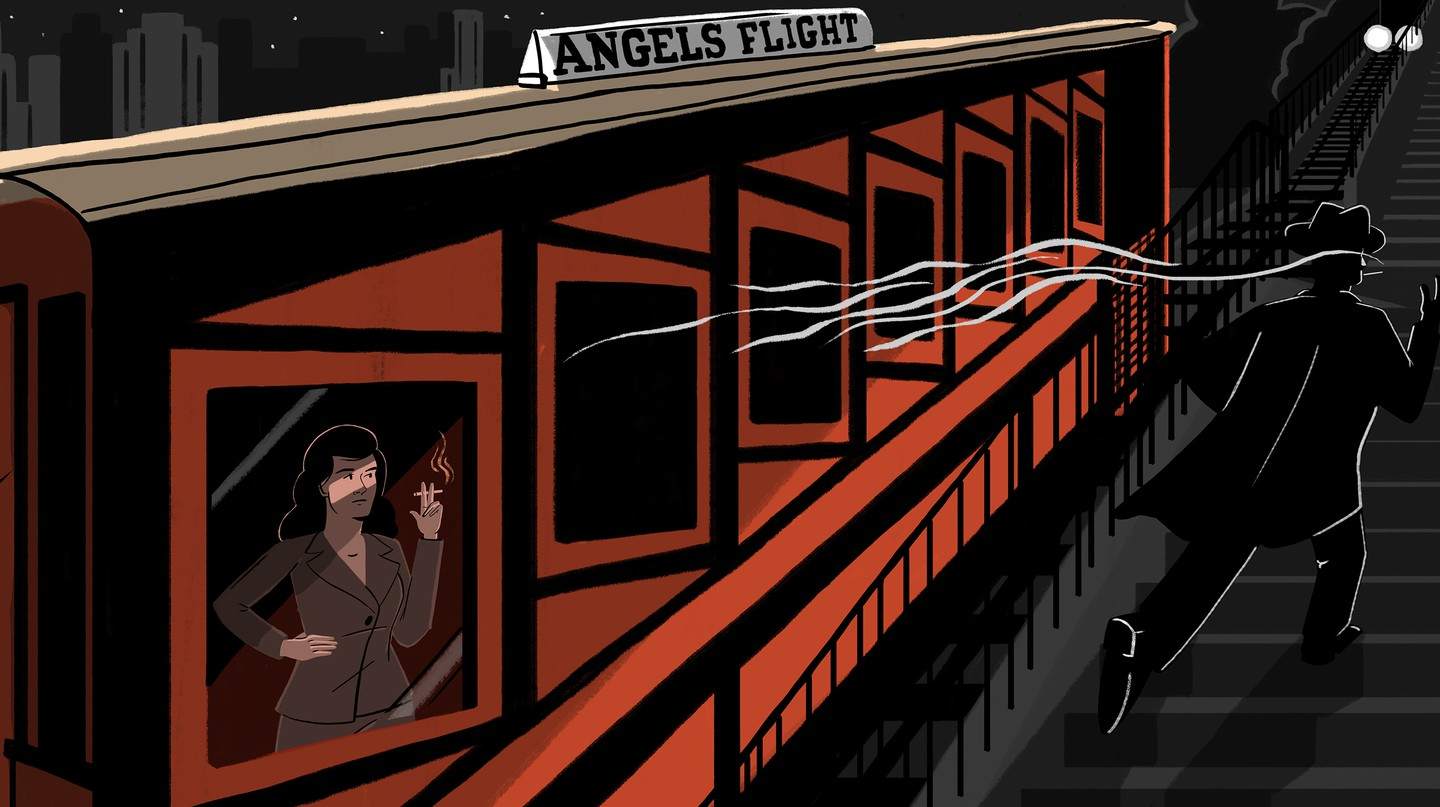 Discover Los Angeles' Lost Film Noir Star on the 'World's Shortest Railway'