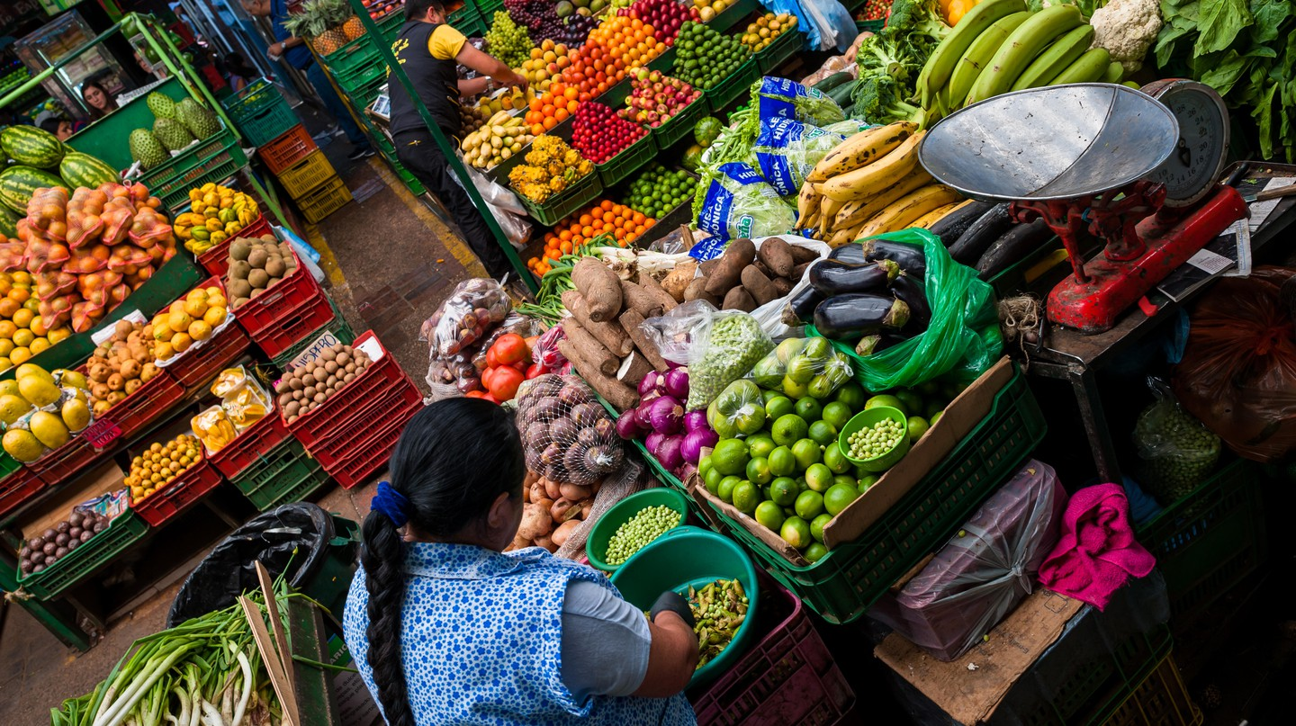 Colombia is among the largest food producers in the world