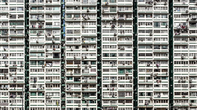 The Man Wah residential building in Jordan, Hong Kong