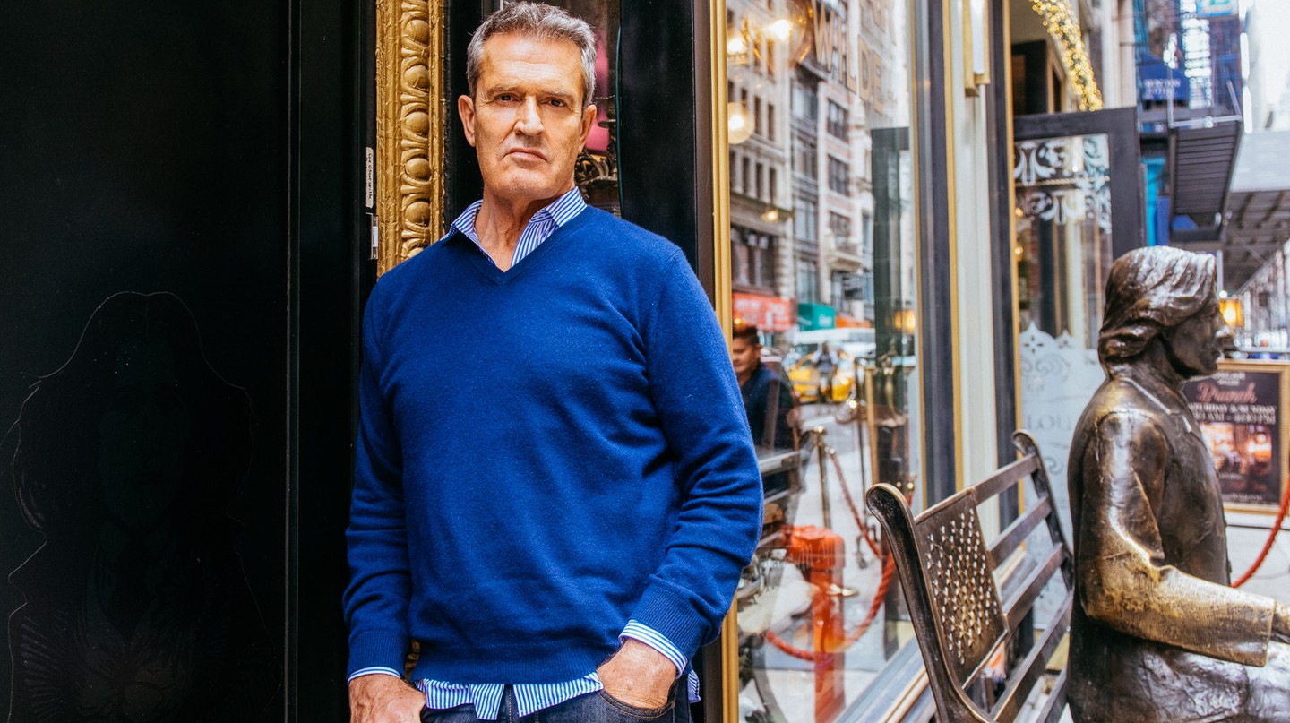 Rupert Everett at Oscar Wilde NYC