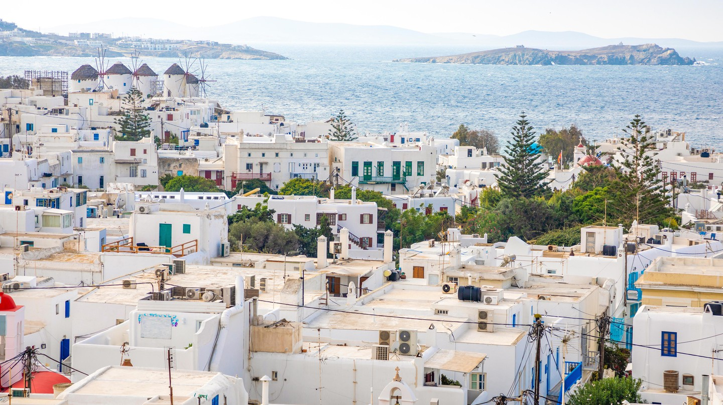 A view over Mykonos town