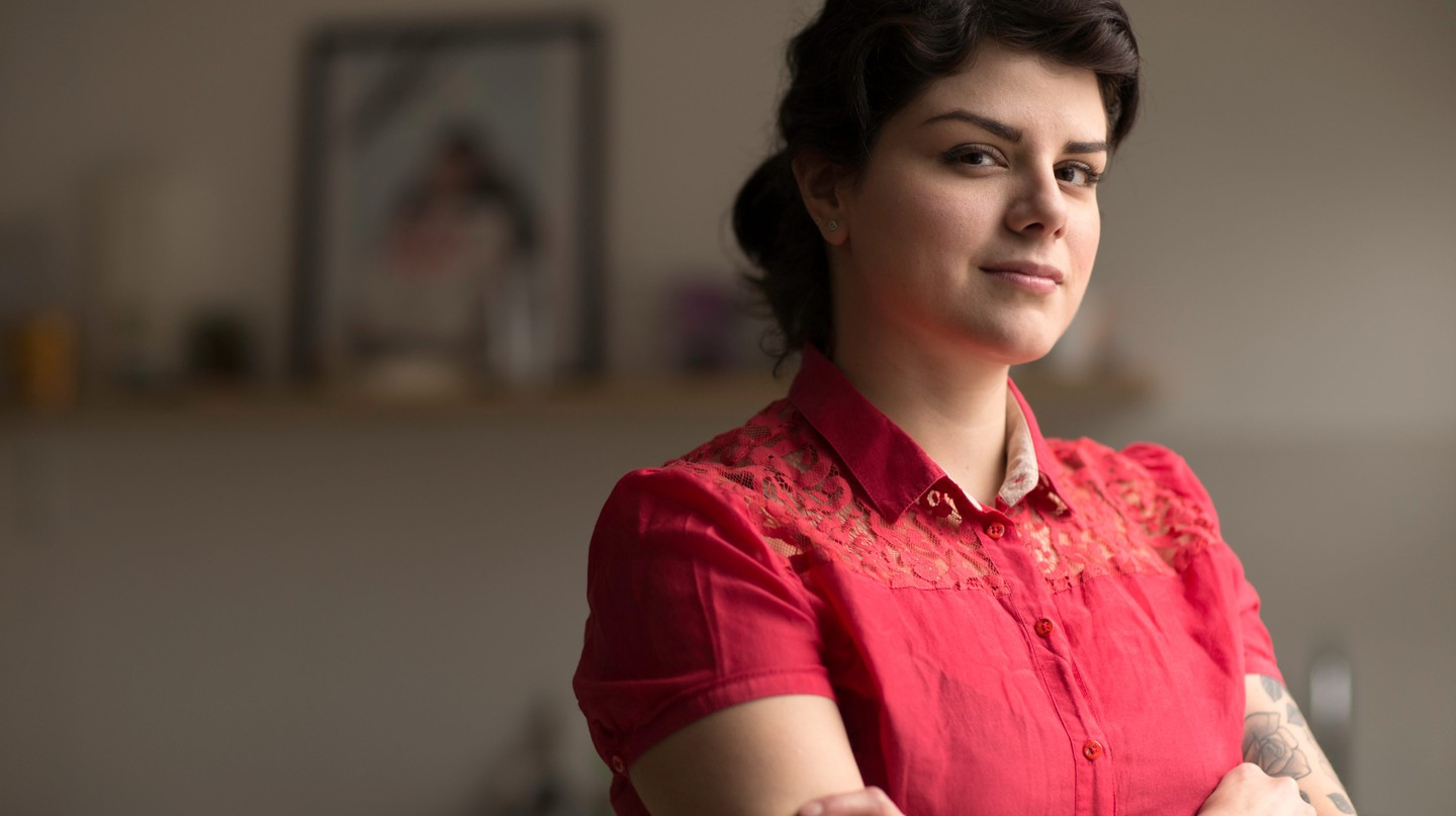 Rosio Sanchez, the owner of Hija de Sanchez