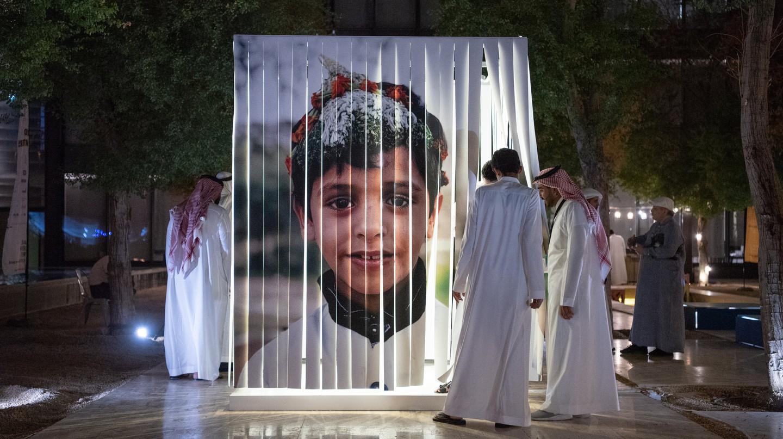 An exhibit at Saudi Design Week