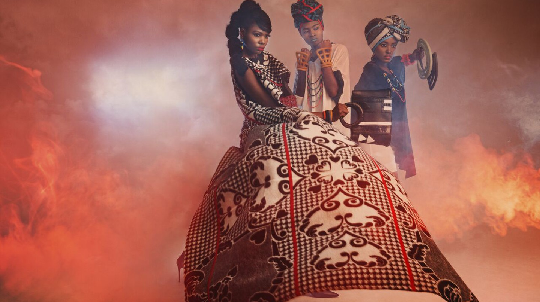 Tradition meets fashion in Thabo Makhetha-Kwinana's work