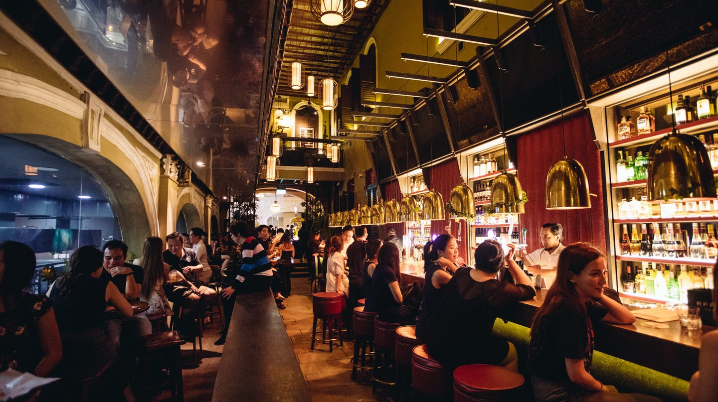 Though elegantly designed, Alley Bar still feels rather cosy