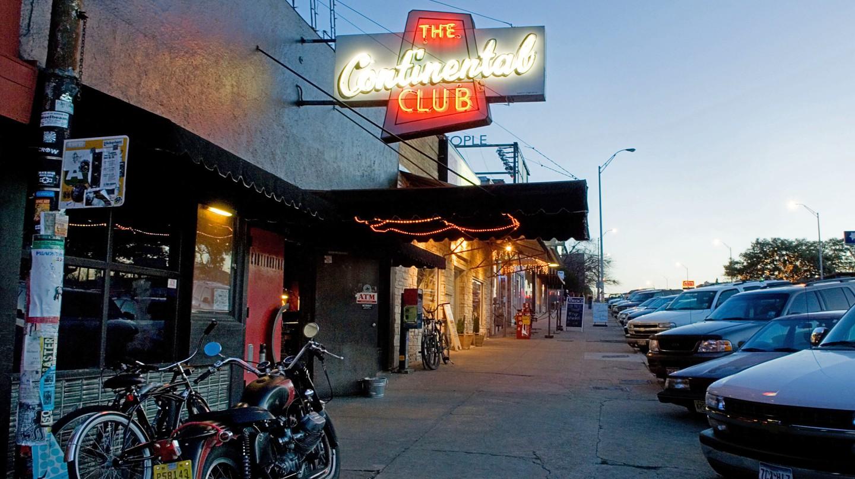 The Continental Club in Austin, Texas