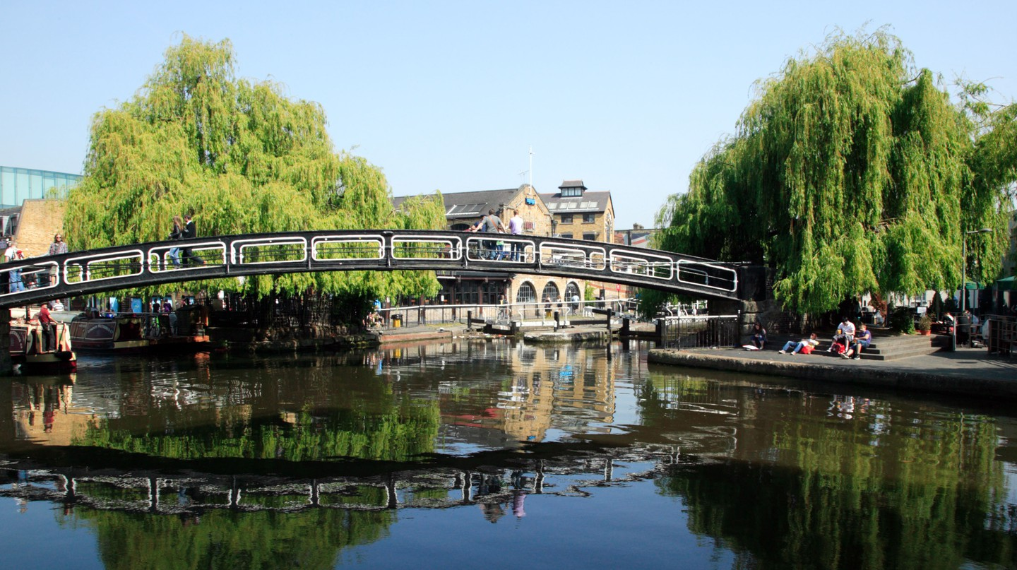 Camden is known as a party district, but there are green and peaceful corners to explore